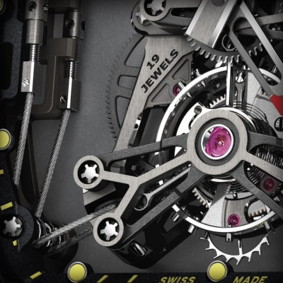 Richard Mille RM027-01 detail shot