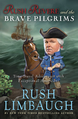"Image: Book cover for ""Rush Revere and the Brave Pilgrims"""