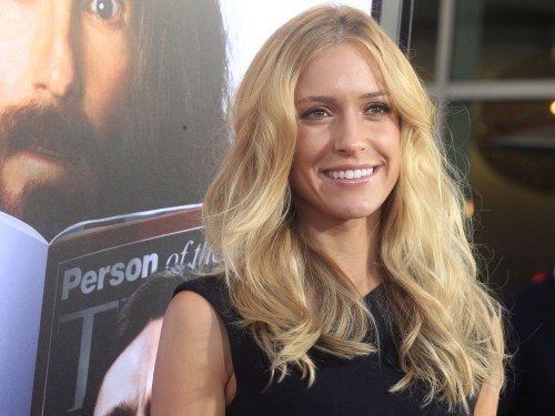 Actress Kristin Cavallari in Hollywood.