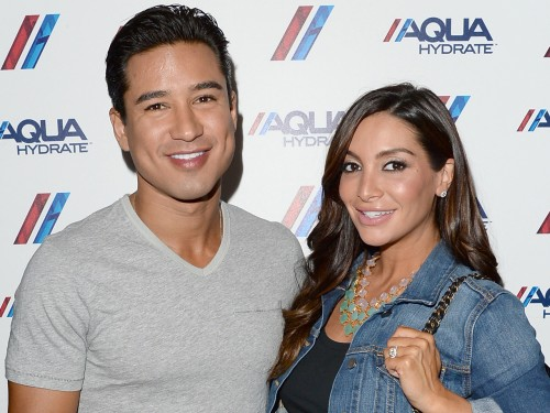 Image: Mario Lopez and Courtney Lopez