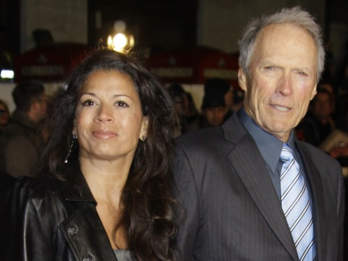 Image: Dina and Clint Eastwood
