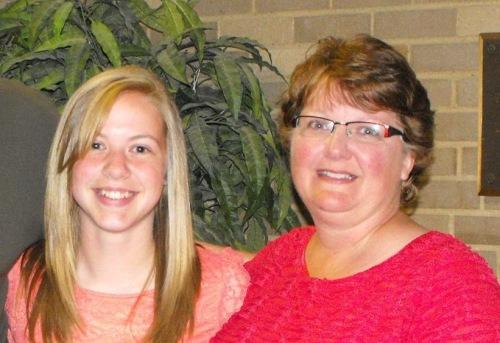 Jill Kolar and daughter