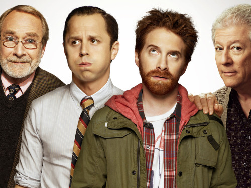 "Image: ""Dads"" cast"