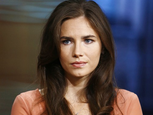 "TODAY -- Pictured: Amanda Knox appears on NBC News' ""Today"" show -- (Photo by: Peter Kramer/NBC/NBC NewsWire)"