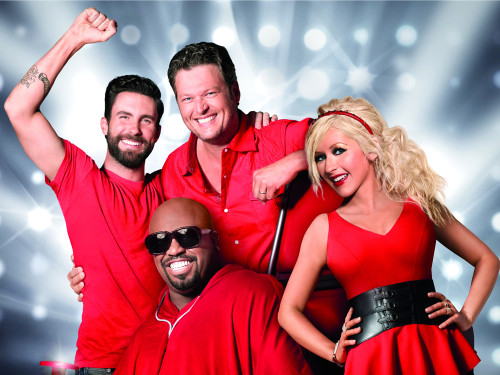 "Image: ""The Voice"" coaches"