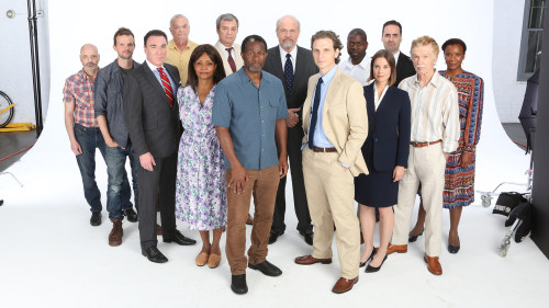 "The cast of ""A Time to Kill,"" which opens on Sept. 28 on Broadway."
