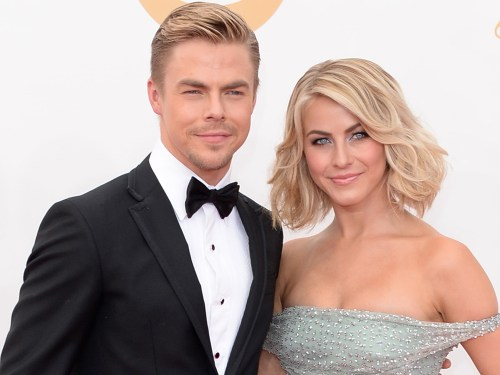 Image: Julianne Hough and brother Derek Hough.
