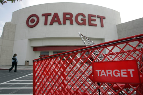 Target is aiming at moms with its free delivery service that lets online shoppers set up regular orders for bulky baby goods such as diapers and wipes.