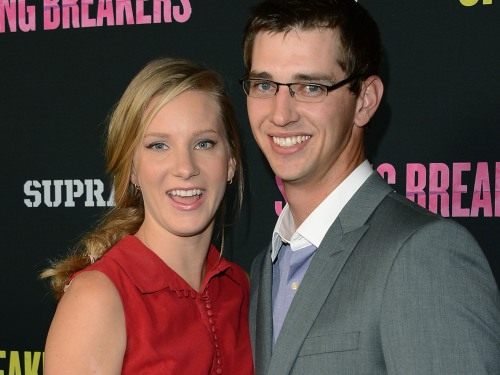 Heather Morris and Taylor Hubbell.