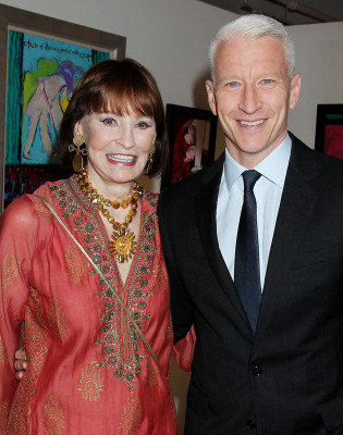 Gloria Vanderbilt and Anderson Cooper are far from estranged, but he's still not getting any of her reported $200 million in an inheritance.