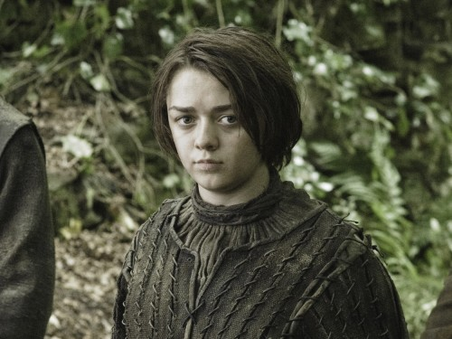 "Image: Maisie Willilams as Arya Stark on ""Game of Thrones."""