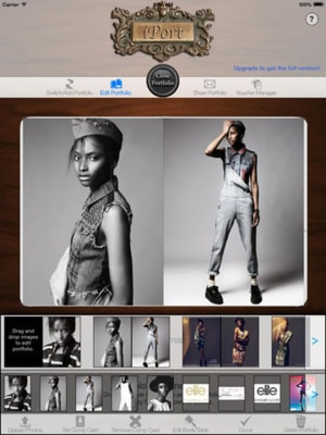 Scott created the iPort app, which is used by models, architects and others to help display their portfolios.