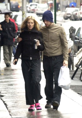 Gwyneth Paltrow and Chris Martin in 2003, the year they were married. Last week they announced their decision to divorce.