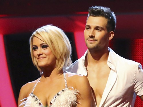 Image: Peta Murgatroyd and James Maslow