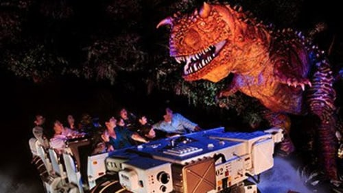Image: Dinosaur ride at Disney's Animal Kingdom