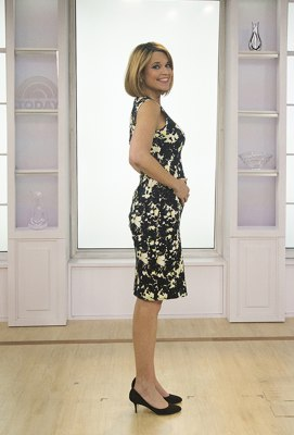 4 months and counting! TODAY anchor Savannah Guthrie and her growing baby bump.
