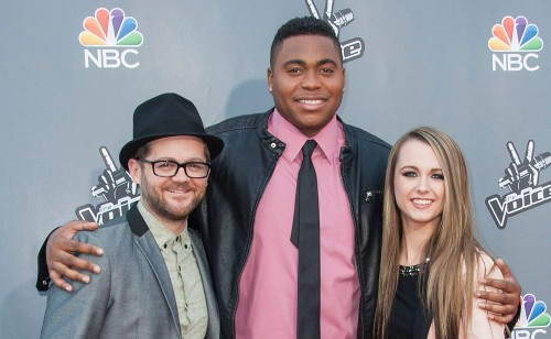 Image: Josh Kaufman, T.J. Wilkins and Bria Kelly