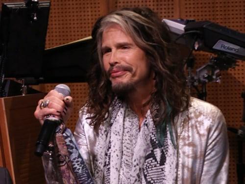 Photo: Steven Tyler of Aerosmith on 'The Tonight Show Starring Jimmy Fallon'