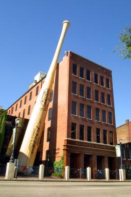 Image: Louisville Slugger Museum & Factory