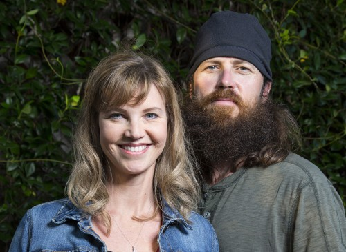 "Missy and Jase Robertson of ""Duck Dynasty"""