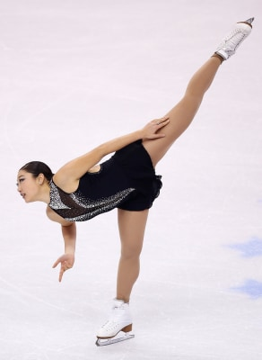 Mirai Nagasu competes in the free skate program during the 2014 Prudential U.S. Figure Skating Championships at TD Garden on January 11, 2014 in Bosto...