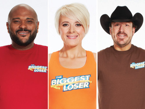"Ruben Studdard, Marie Pearl and Jay Sheets of ""Biggest Loser"" season 15"