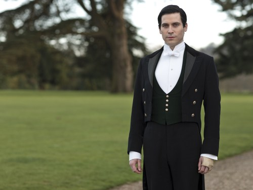 "Image: Thomas on ""Downton Abbey""  The fourth series, set in 1922, sees the return of our much loved characters in the sumptuous setting of Downton Abbey. As they face..."