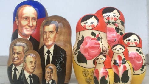 Don't leave Sochi without these Matryoshka nesting dolls.