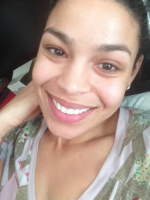 Jordin Sparks without make-up.