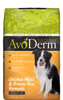 Avoderm is among Cheapism's top picks for best dog food on a budget.