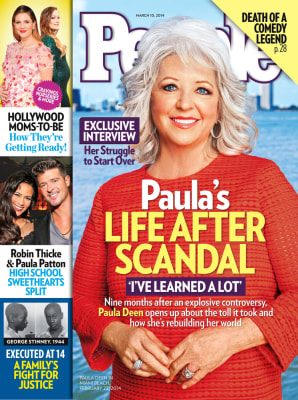 People magazine's March 10, 2014 cover, starring Paula Deen.