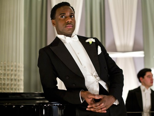 Gary Carr as Jack Ross on Downton Abbey.