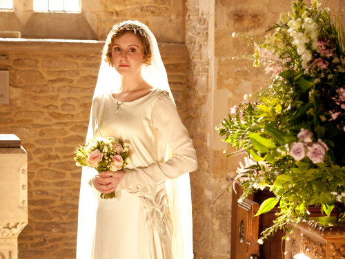 Lady Edith Downton Abbey season 3