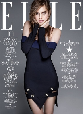 Image: Allison Williams on Elle