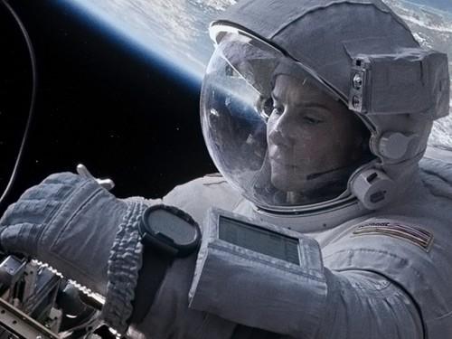 """Sandra Bullock soars in """"Gravity."""""""