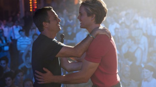 """Mark Ruffalo and Taylor Kitsch in """"The Normal Heart"""" which premieres in May on HBO."""
