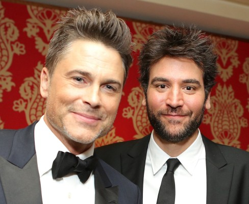 Image: Rob Lowe and Josh Radnor