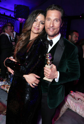 Image: Camila Alves and Matthew McConaughey