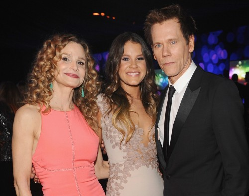 Image: Kyra Sedgwick, Sosie Bacon and Kevin Bacon