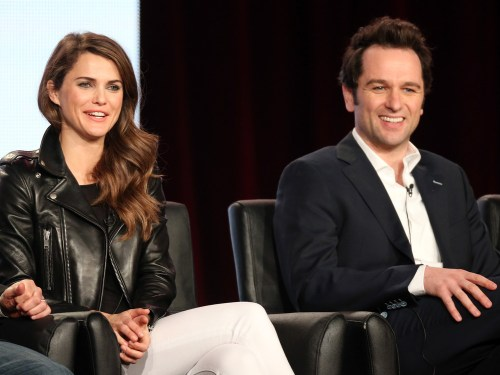 "Keri Russell and Matthew Rhys are the stars of ""The Americans."""