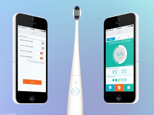 Bluetooth toothbrush