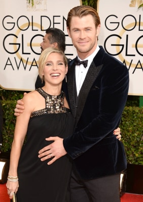 IMAGE:  Chris Hemsworth and wife Elsa Patak