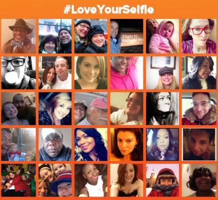 #LoveYourSelfie