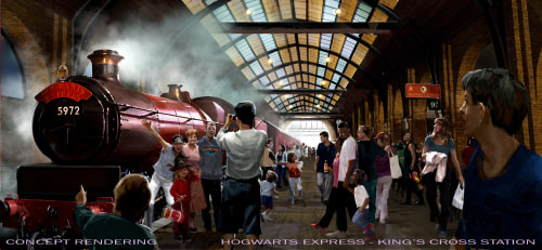 Wizarding World of Harry Potter, Diagon Alley, Hogwarts Express, Universal Studios Florida
