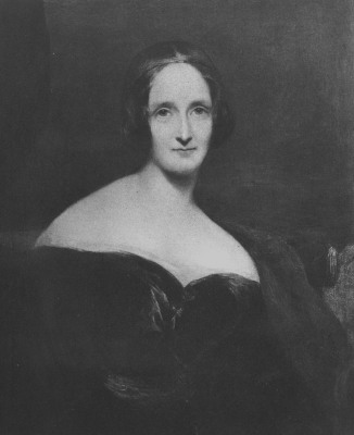 circa 1830:  Mary Wollstonecraft Shelley (1797 - 1851) the English novelist and second wife of Percy Bysshe Shelley, famous for her novel Frankenstein...