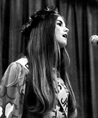 Kathie Lee Gifford (Epstein) Senior Year 1971 Bowie High School, Bowie, MD Shown at the Junior Miss Pageant in 1970 Credit: Seth Poppel/Yearbook Libra...