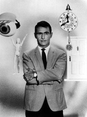 "Rod Serling, the creator and most regular resident of ""The Twilight Zone."""