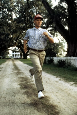 Image: Tom Hanks as Forrest Gump.
