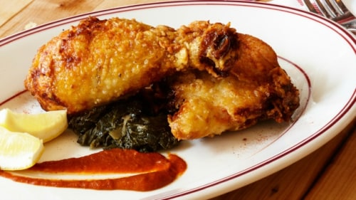 Marcus Samuelsson's fried yardbird recipe