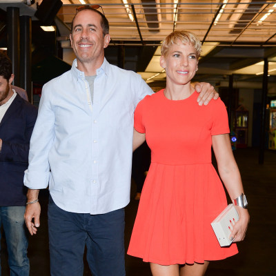 Image: Jerry Seinfeld and Jessica Seinfeld in 2014